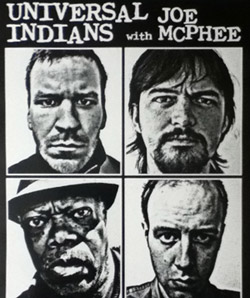 Universal Indians with Joe McPhee poster